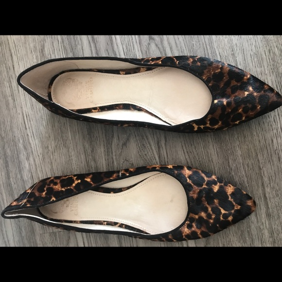 Vince Camuto Shoes - Vince Camuto Cheetah Print Flats